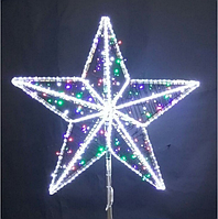 Макушка на Елку Звезда 5 (без нити) - 3D ST 31
