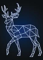 Новогодняя фигура Олень из полигонов - SP 04