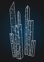 Объемная композиция Ледники - FON 8