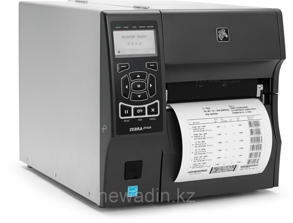 Полупромышленный принтер этикеток/чеков Zebra ZT420