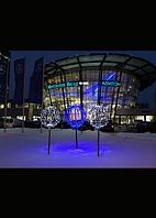 Световой шар из светодиодных гирлянд 100 см - 3D ST 33-100