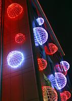 Светящаяся Полусфера 1,5м - 3D ST 35