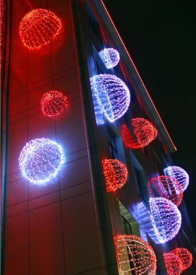 Светящаяся Полусфера 2м - 3D ST 36