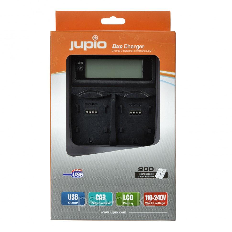 Двойное зарядное устройство Jupio для Sony NP-FM50/ NP-FM55H/ NP-FM500H/ F550/ F750/ F960/ F970/ F990