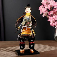 Кукла коллекционная 'Китайский гвардеец с мечом' 31х12,5х12,5 см