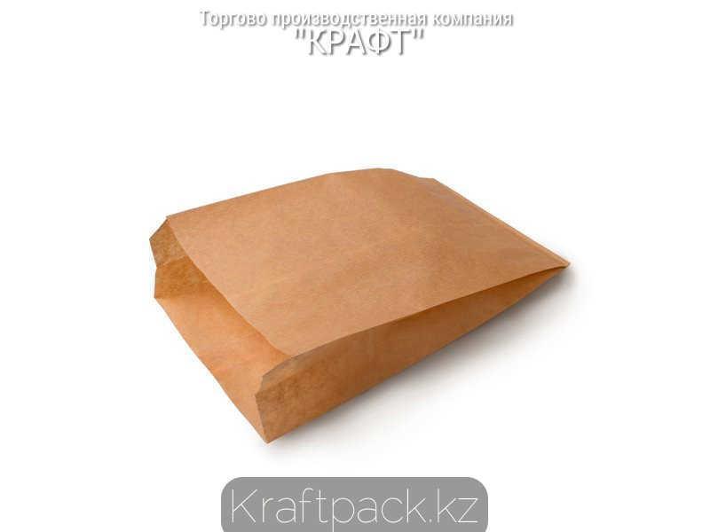 Пакет крафт для выпечки и бутербродов 140*60*250 (3500шт/уп)