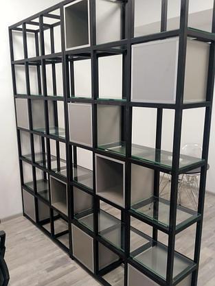 Стеллаж - ячейки со стеклом, фото 2