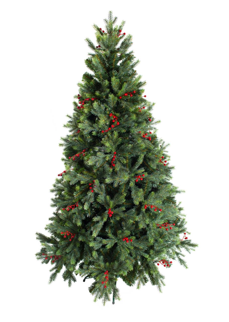 Комнатная елка Грацио с ягодами премиум класса 2.1 м
