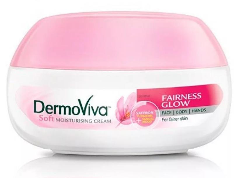 Крем отбеливающий 70 г Dabur Vatika Dermoviva Fairness Glow Skin Cream