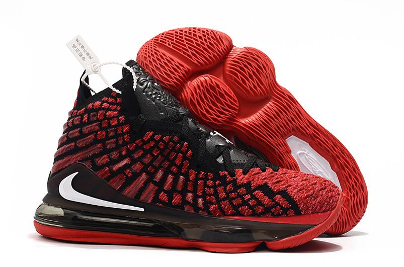 "Баскетбольные кроссовки Nike Lebron 17 (XVII ) ""Red"" sneakers from LeBron James"