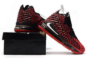 "Баскетбольные кроссовки Nike Lebron 17 (XVII ) ""Red"" sneakers from LeBron James, фото 2"