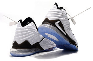 "Баскетбольные кроссовки Nike Lebron 17 (XVII ) ""White"" sneakers from LeBron James, фото 2"
