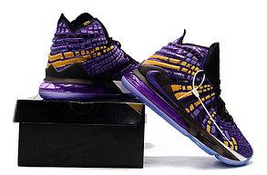 """Баскетбольные кроссовки Nike Lebron 17 (XVII ) """"LA Lakers"""" sneakers from LeBron James, фото 3"""