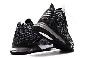 "Баскетбольные кроссовки Nike Lebron 17 (XVII ) ""Gray"" sneakers from LeBron James, фото 2"