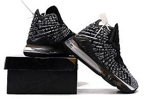 "Баскетбольные кроссовки Nike Lebron 17 (XVII ) ""Gray"" sneakers from LeBron James, фото 3"