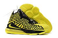 "Баскетбольные кроссовки Nike Lebron 17 (XVII ) ""yellow"" sneakers from LeBron James"
