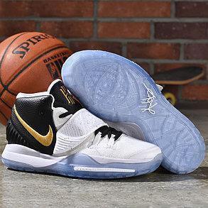 "Баскетбольные кроссовки Nike Kyrie 6 (VI) ""Black-White"" sneakers from Kyrie Irving, фото 2"