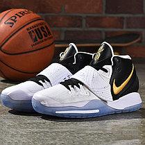 "Баскетбольные кроссовки Nike Kyrie 6 (VI) ""Black-White"" sneakers from Kyrie Irving, фото 3"