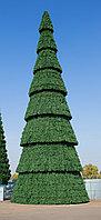 Уличная сегментная Елка каркасного типа высотой 16 метров для площади