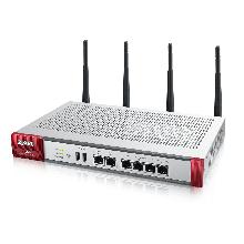 Беспроводной межсетевой экран Zyxel USG60W с набором подписок на 1 год (AS,AV,CF,IDP), Rack, 2xWAN GE, 4xLAN/D