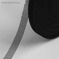 Лента для швов, 10 мм, 50 ± 1 м, цвет чёрный