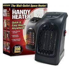 Обогреватель портативный  Handy Heater с пультом и таймером. Тепловентилятор в розетку компактный WONDER WARM