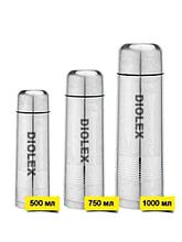Термос DIOLEX DXW-750-1 0,75л,ребрис.поверхность