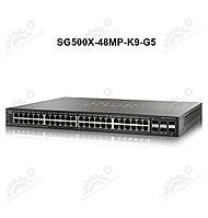 SG500X-48MP 48-port Gig + 4 10-Gig Max PoE+ Switch