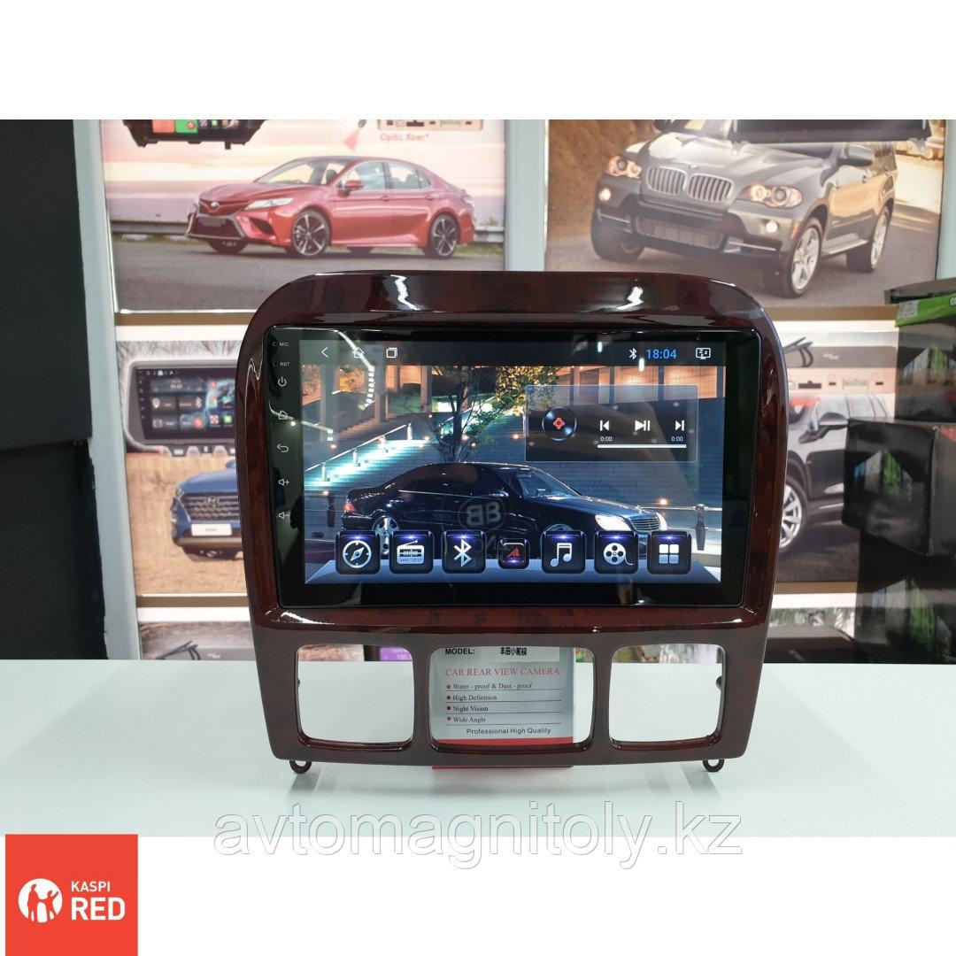 Автомагнитола AutoLine Mercedes-Benz W220/4 ЯДЕРНЫЙ