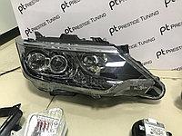 Передние фары на Camry V55 2014-17 Exclusive Дубликат, фото 1