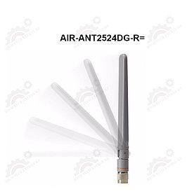 2.4 GHz 2 dBi/5 GHz 4 dBi Dipole Ant., Gray, RP-TNC
