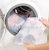 Термостойкий мешок сетка с мелкой ячейкой на молнии LOKS super cleaning 30*40 см 100-901