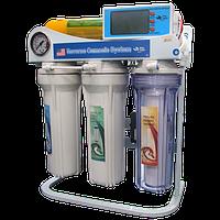 Обратноосмотическая установка для очистки и насыщения воды