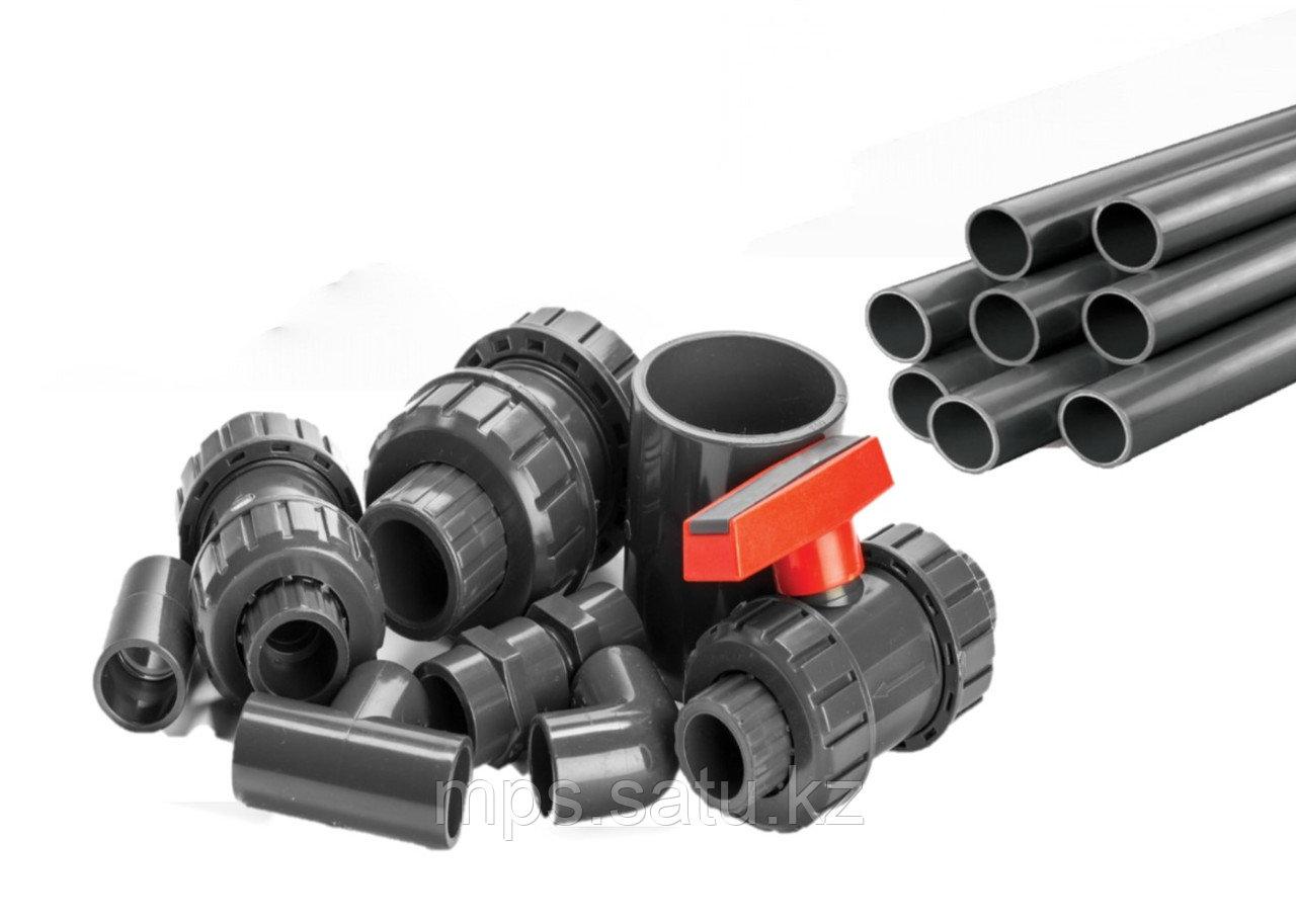 PVC Трубы, фитинги, переходники - фото 2