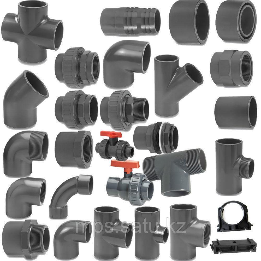 PVC Трубы, фитинги, переходники - фото 1