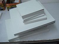 Самоклеющийся пластик для фотокниг (Fotobook) 0,8мм Белый 31x45см  PP (полипропилен)