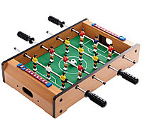 ⚽Мини Настольный футбол - 4 металлические ручки HG 235A  на штангах деревянный 51x31x10.5