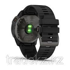 Часы с GPS навигатором Garmin fenix 6X Sapphire Carbon Gray DLC w/Black Band (010-02157-11), фото 2