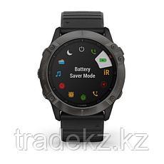 Часы с GPS навигатором Garmin fenix 6X Sapphire Carbon Gray DLC w/Black Band (010-02157-11), фото 3