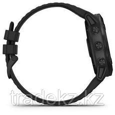 Часы с GPS навигатором Garmin fenix 6X Sapphire Black DLC w/Brwn Leather Band (010-02157-14), фото 3