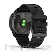 Часы с GPS навигатором Garmin fenix 6X Pro Solar Ti Carbon Gray DLC w/Black Band (010-02157-21), фото 2