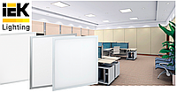 Светодиодные панели ДВО 36 Вт IEK: один тип драйвера независимо от цвета рамки