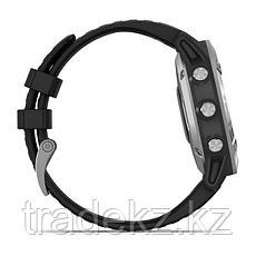 Часы с GPS навигатором Garmin fenix 6 Silver w/Black Band (010-02158-00), фото 3