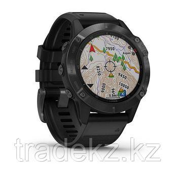 Часы с GPS навигатором Garmin fenix 6 Pro Black w/Black Band (010-02158-02), фото 2