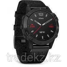 Часы с GPS навигатором Garmin fenix 6 Sapphire Black DLC w/Ntral Nylon Band (010-02158-17), фото 2