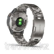 Часы с GPS навигатором Garmin fenix 6 Sapphire Titanium Gray w/Ti Band (010-02158-23), фото 2
