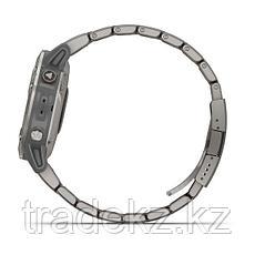 Часы с GPS навигатором Garmin fenix 6 Sapphire Titanium Gray w/Ti Band (010-02158-23), фото 3