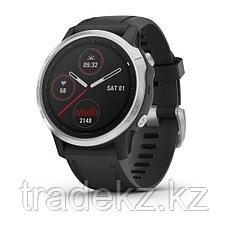 Часы с GPS навигатором Garmin fenix 6S Silver w/Black Band (010-02159-01), фото 2