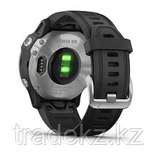 Часы с GPS навигатором Garmin fenix 6S Silver w/Black Band (010-02159-01), фото 3