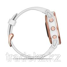 Часы с GPS навигатором Garmin fenix 6S Pro Rose Gold w/White Band (010-02159-11), фото 3